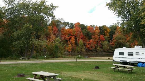 Berrien Springs, ميتشجان: Fall color