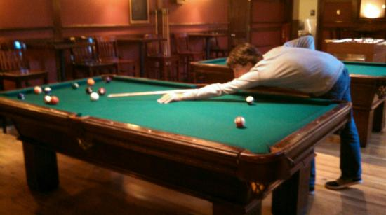 Sheridan Bar: Vintage Pool Tables Ready For A Game