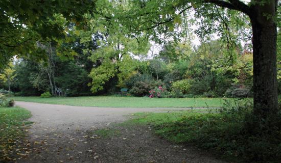 Vue du jardin c t parc photo de l 39 aubepine saint gervais la foret tripadvisor - La table du cuisinier saint gervais la foret ...