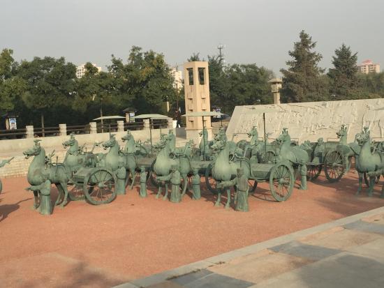 Wuwei, China: 武威雷台公园