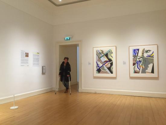 """4Kt Guesthouse : Scottish national gallery of modern art """"works of Lichtenstein"""""""