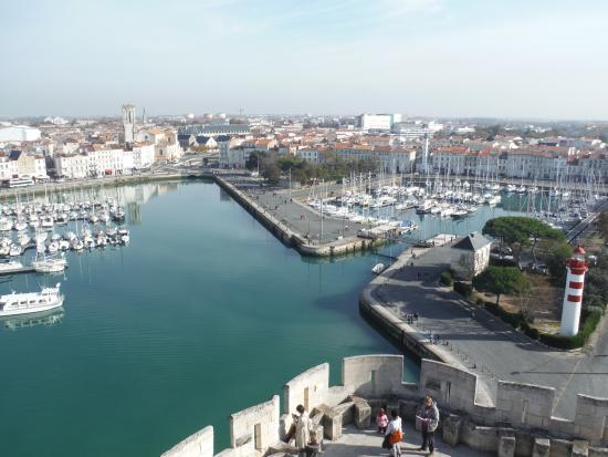 Tour Saint-Nicolas: Port depuis tour st Nicolas