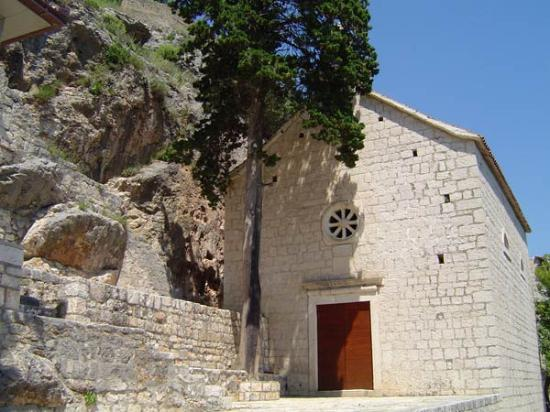 Slatine, Croacia: The church