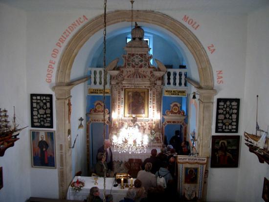 Слатина, Хорватия: Altar