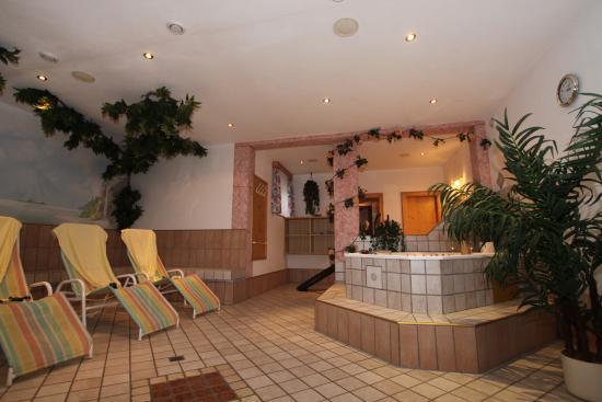 Apart Garni Romantica: Wellnessbereich /Sauna, Dampfbad....