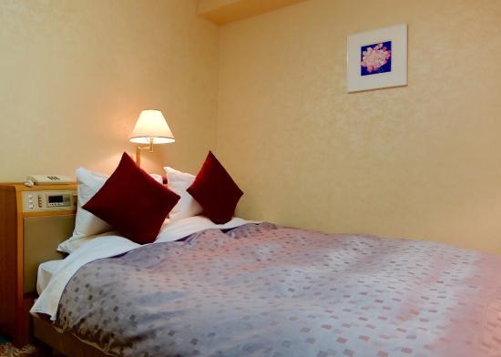 Koriyama View Hotel Annex: 間接照明複数。癒されます。家具レイアウトにゆとりあり