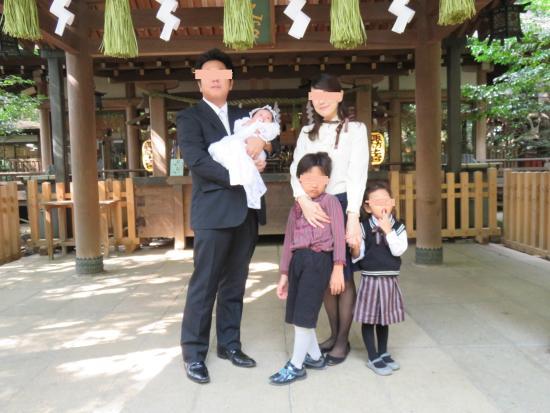 Suwa Shrine : お宮参り