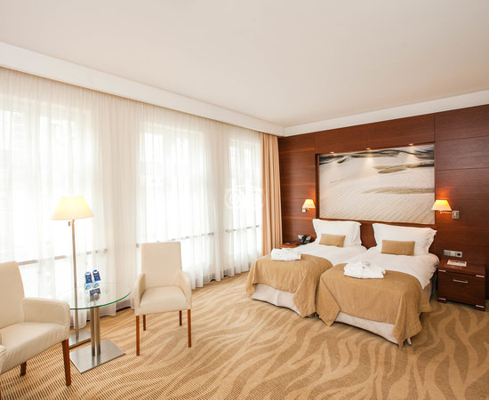 The Superior Double Room at the Radisson Blu Hotel Gdansk