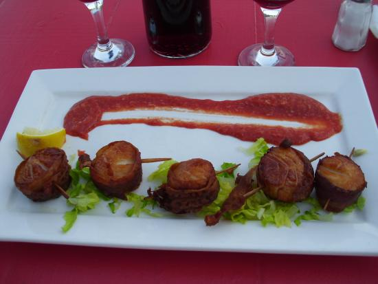 Chester, Canadá: scallop plate
