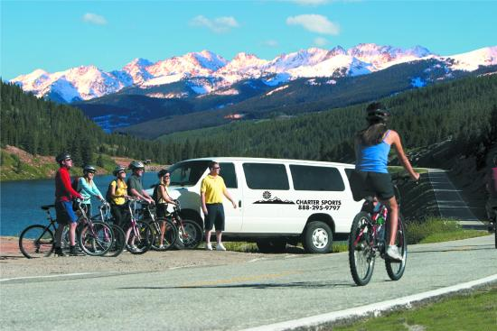Charter Sports Vail Pass Bike Tour
