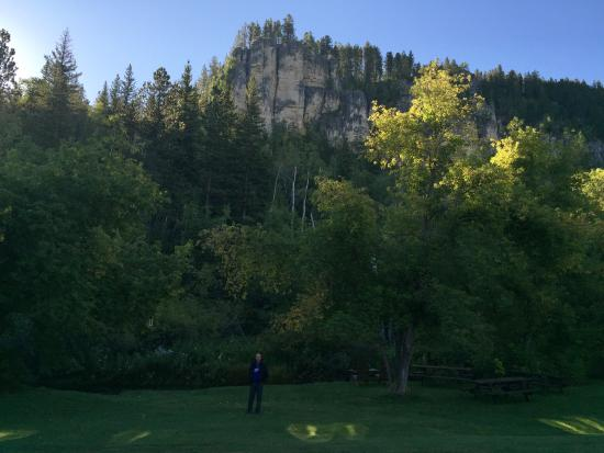 Spearfish Canyon Lodge: view from room