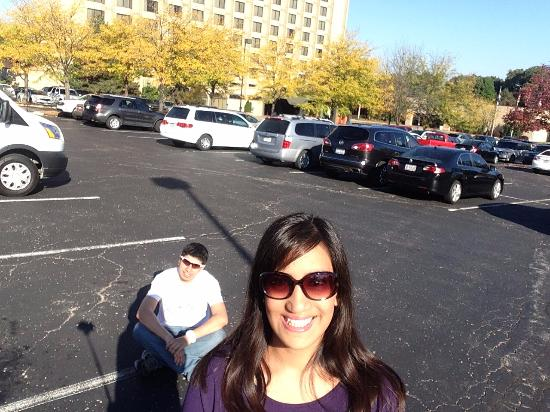 Doubletree by Hilton Hotel St Louis - Chesterfield : Estacionamiento