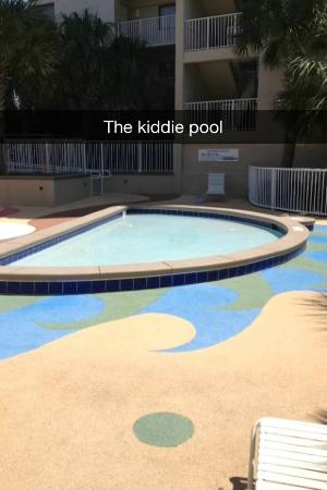 Mainsail Resort: The kiddie pool area is wonderful!