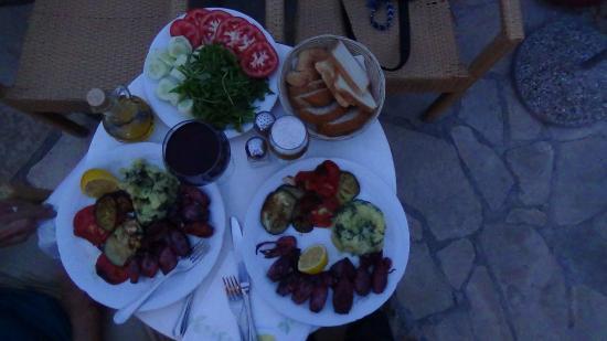 Bjelila, Montenegro: Dinner for 2 = $30