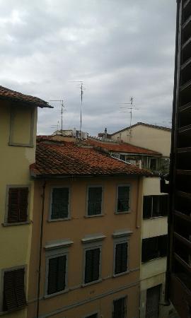 Hotel Leopolda: Vista desde una de las ventanas