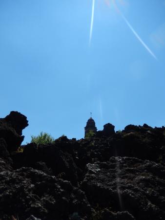 Paricutín Volcano: Casi cubierto