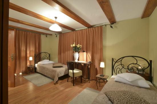 Villa Admiral: Economy twin - dwa pojedyńcze łóżka