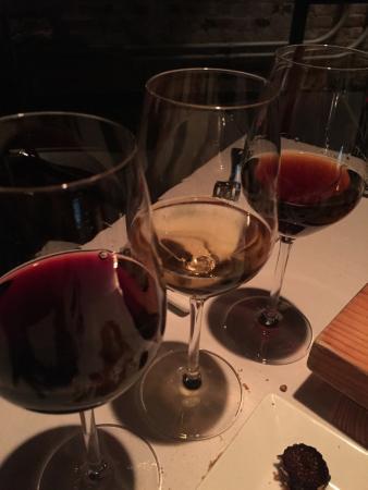 "Boiler Room : Dessert wine ""flight"""
