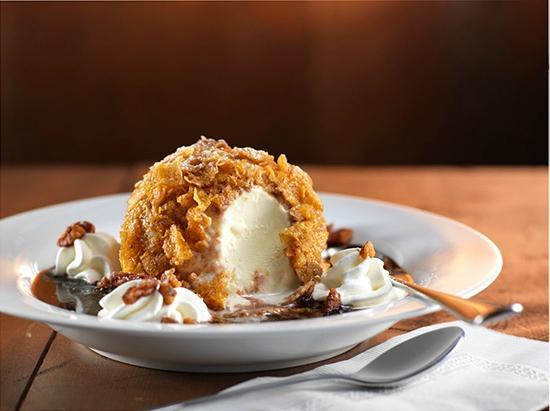 Lone Star Texas Grill : Texas Fried Ice Cream