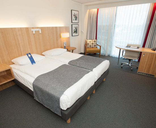 The Superior Double Room at the Radisson Blu Waterfront Hotel