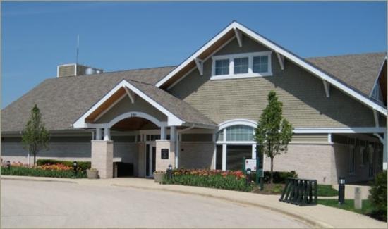 White Deer Run Golf Club: Club house main entrance