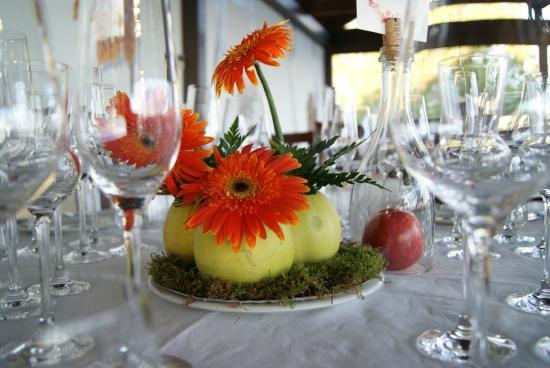 La Aguzadera: Centro de mesa evento