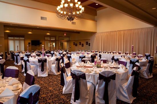 White Deer Run Golf Club: Main banquet hall - wedding