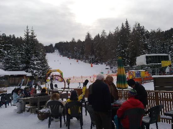 Camping Park Baita Dolomiti: piste e impianto di risalita della Mendola