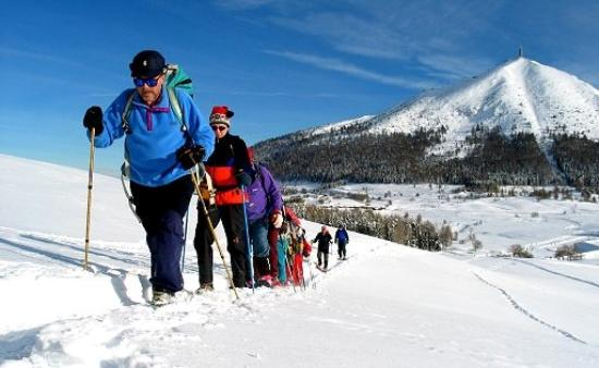Camping Park Baita Dolomiti: Ciaspolada