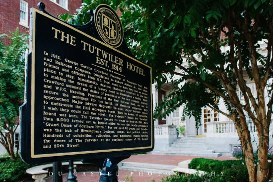 The Tutwiler Hotel Historical Marker - Picture of Hampton