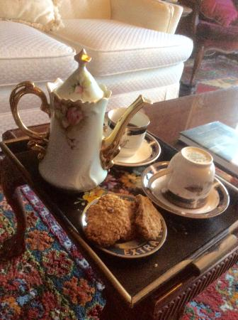 Stanyar House Bed and Breakfast : Coffee service