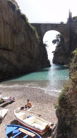 Fiordo di Furore, Italia: Nice and refreshing swim