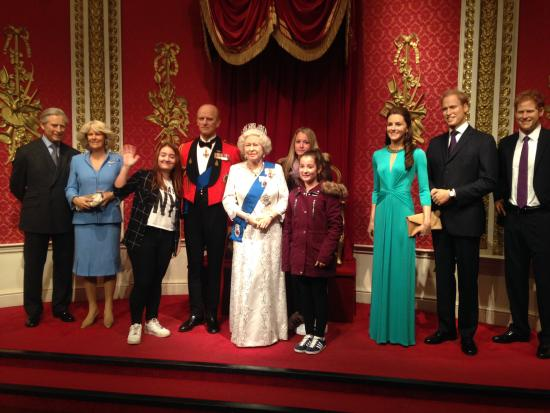 La Famille Royale - Picture of Madame Tussauds London ...