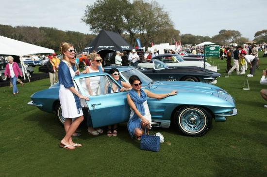 Americas Premiere Vintage Car Show Concours DElegance Is Held At - Florida classic 2018 car show