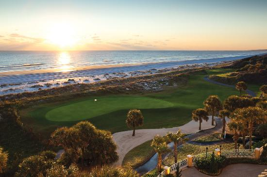 Amelia Island, a golf paradise with 117 holes. Shown: Ocean Links at Omni Amelia Island Plantati