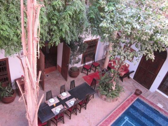 Riad El Zohar: Dining Room