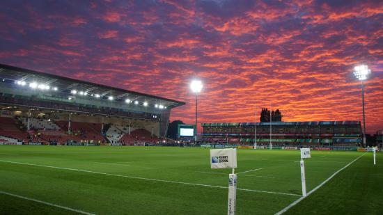 ‪Kingsholm Stadium‬
