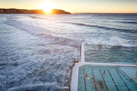 New South Wales, Australia: Sunrise, Bondi Beach