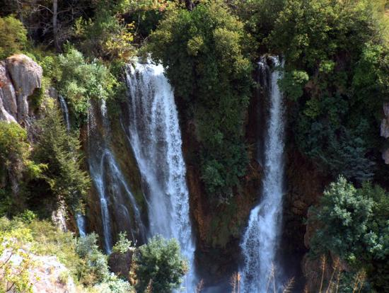 Sibenik-Knin County, Croatia: Highest cascade