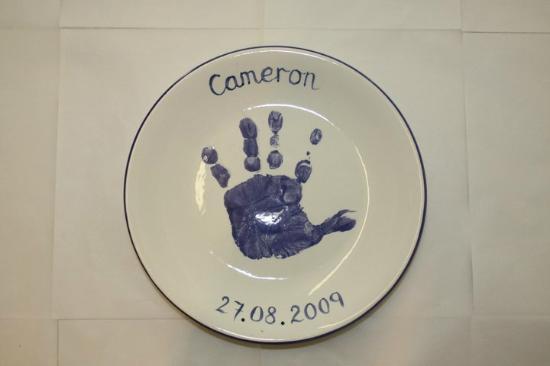 Ballasalla, UK: Handprint Plate