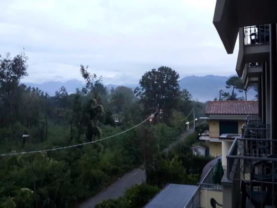 Airone Hotel: Aussicht vom Balkon