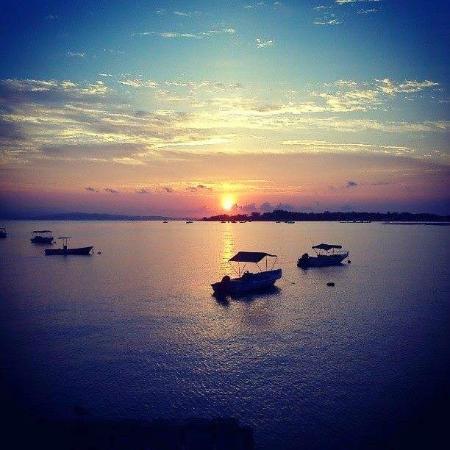 Puerto Jimenes, Costa Rica: Playa Puerto Jimenez(amanecer)