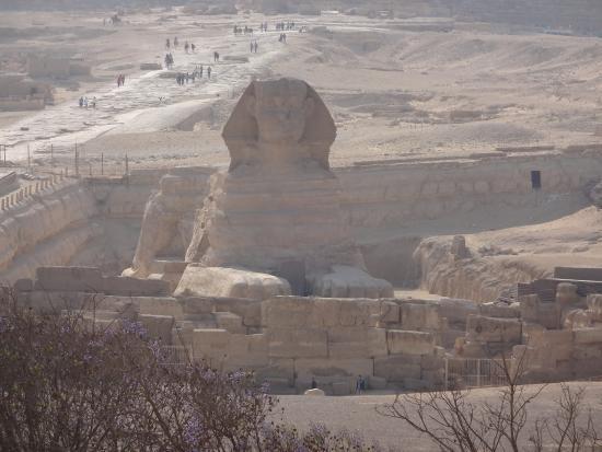Pyramids View Inn: Esfinge