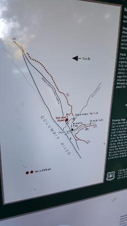 Hood River, OR: Trail Map