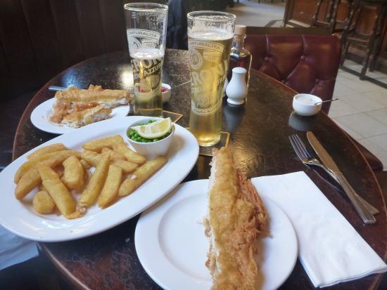 Fish & Chips at Cafe Royal