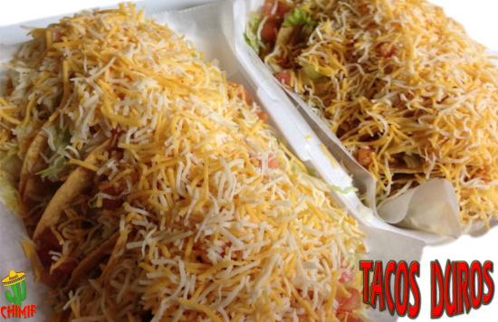 Chimichanga Mexican Food Puerto Rico