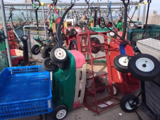 Ocean Beach Parking Lot For Wagons Near Ferry Terminal