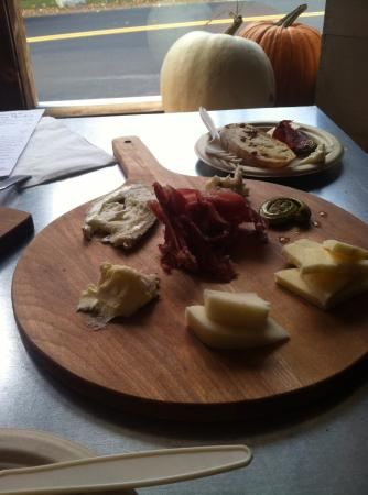 Center Ossipee, NH: cheese plate