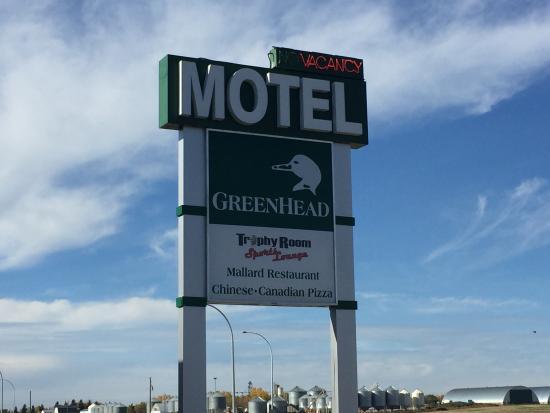 Provost, Canada : Motel Sign