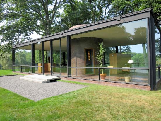 Philip Johnson Glass House the glass house picture of the philip johnson glass house